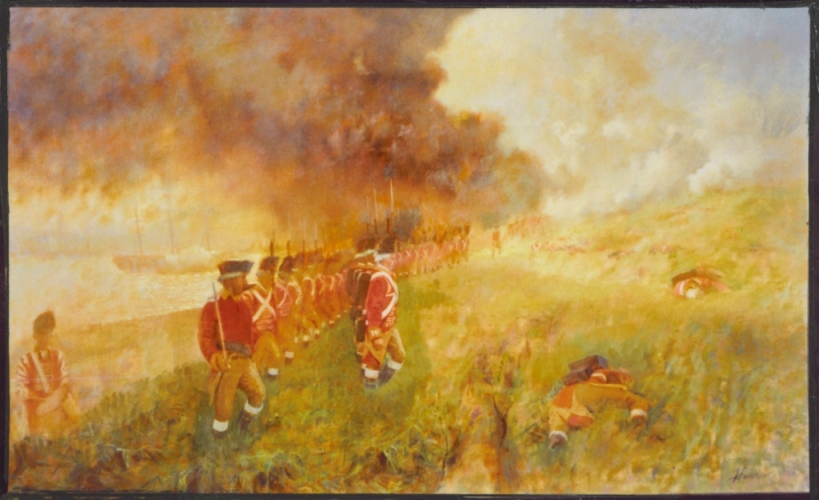 Battle at Breeds Hill by Frank Handlen