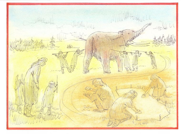Our Paleo forebears roamed the land that became York County