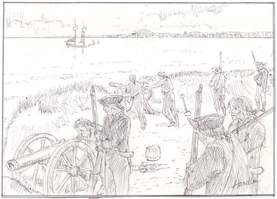 Cape Arundel is spared a seaborne assault in 1814.