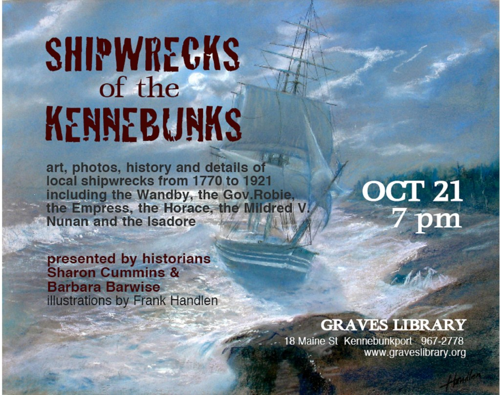 Graves Library Shipwreck Lecture