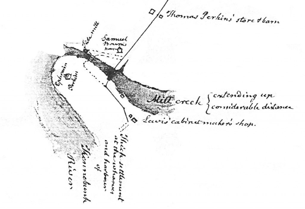 closeup 1805 Map