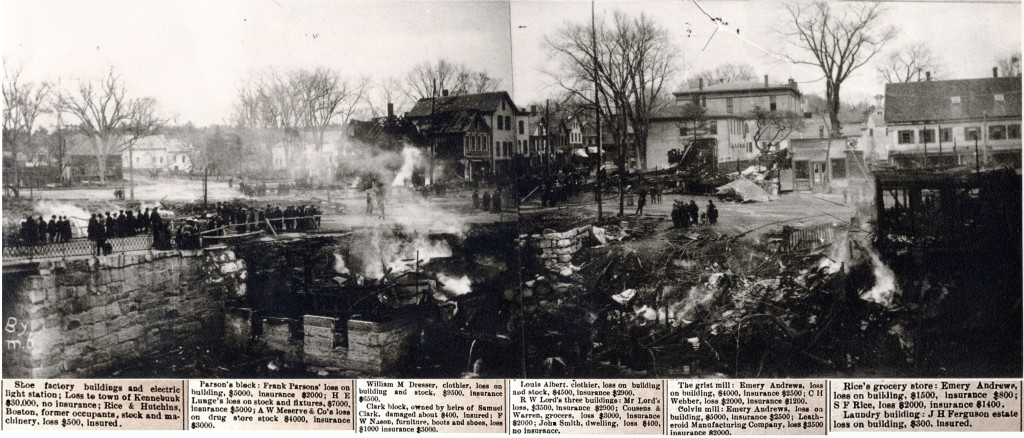 Kennebunk 1903 Fire Whitcomb